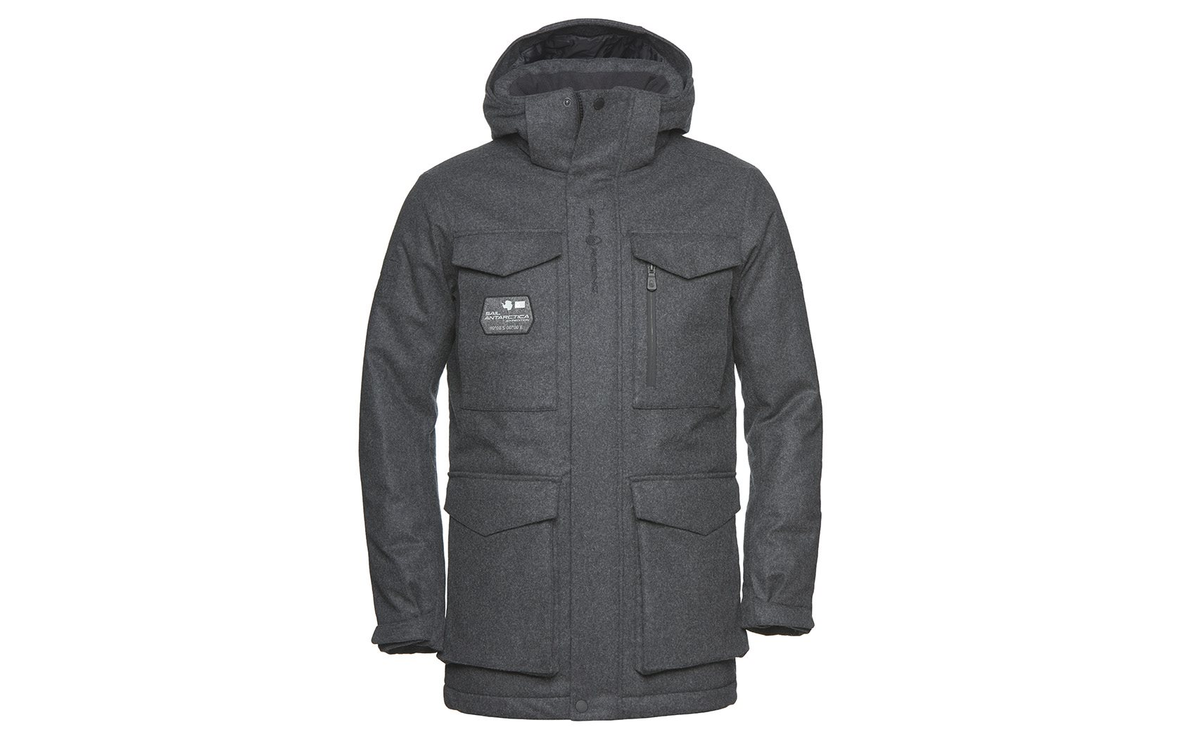 GLACIER BAY WOOL PARKA