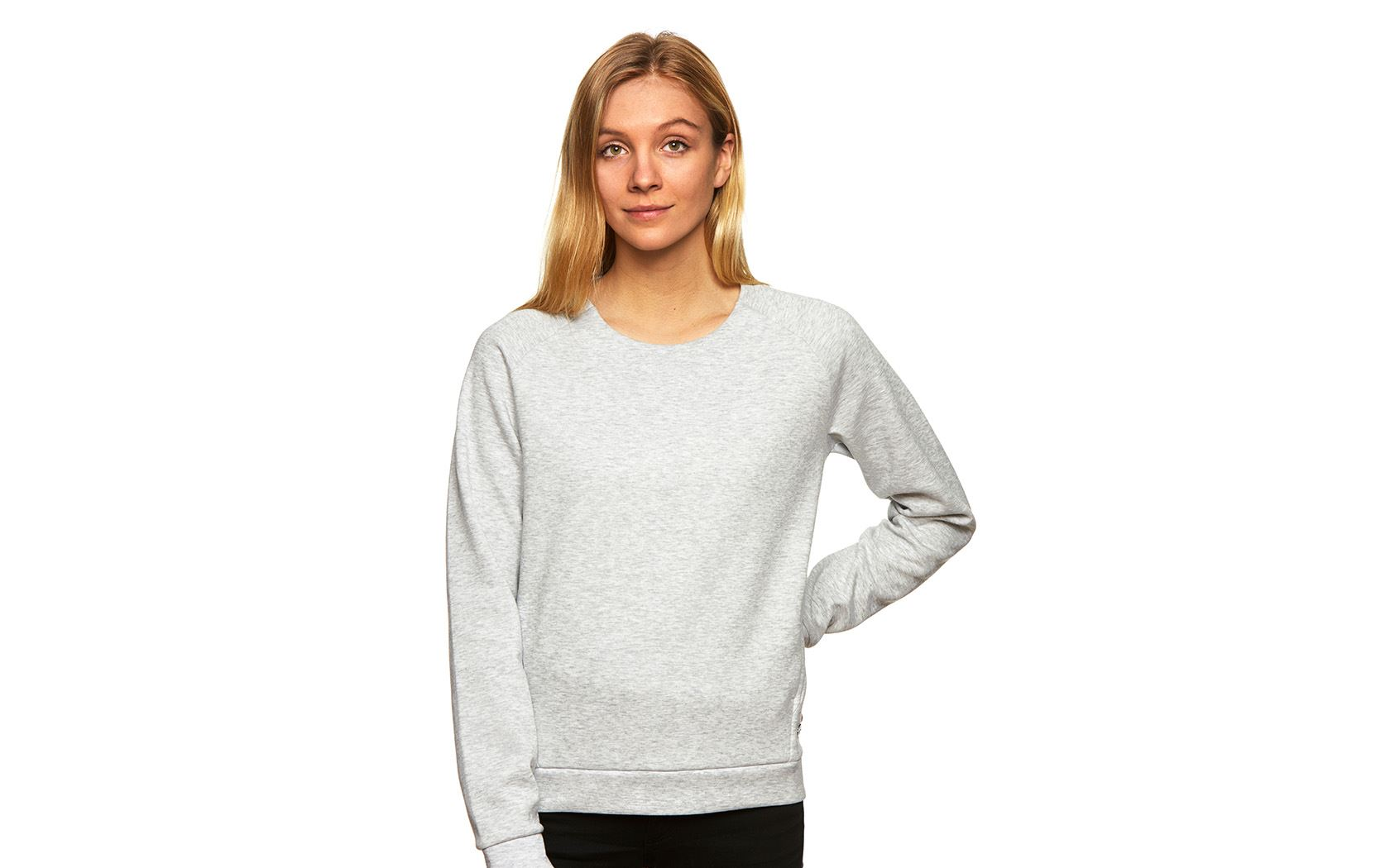 W RACE RAGLAN SWEATER