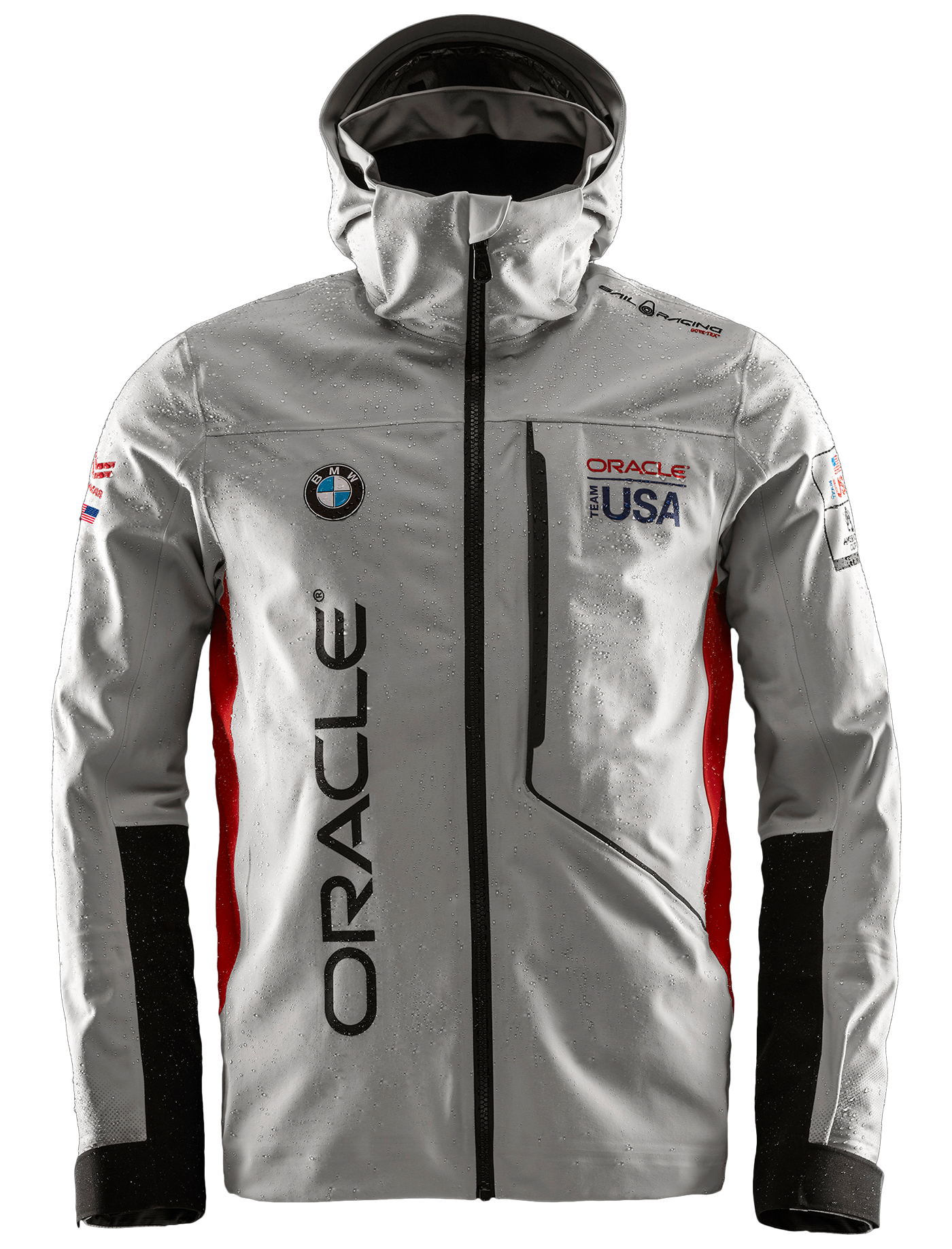 M Year End Sale White Oracle Racing Team USA Americas Cup Women T-Shirt